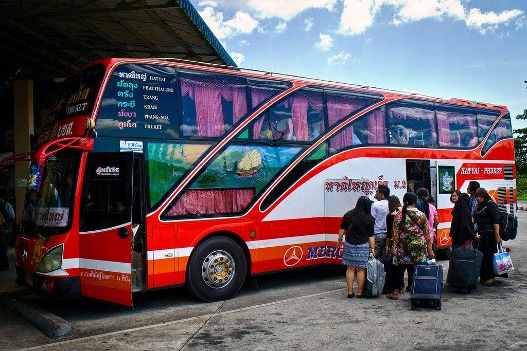 First Class Bus Thailand