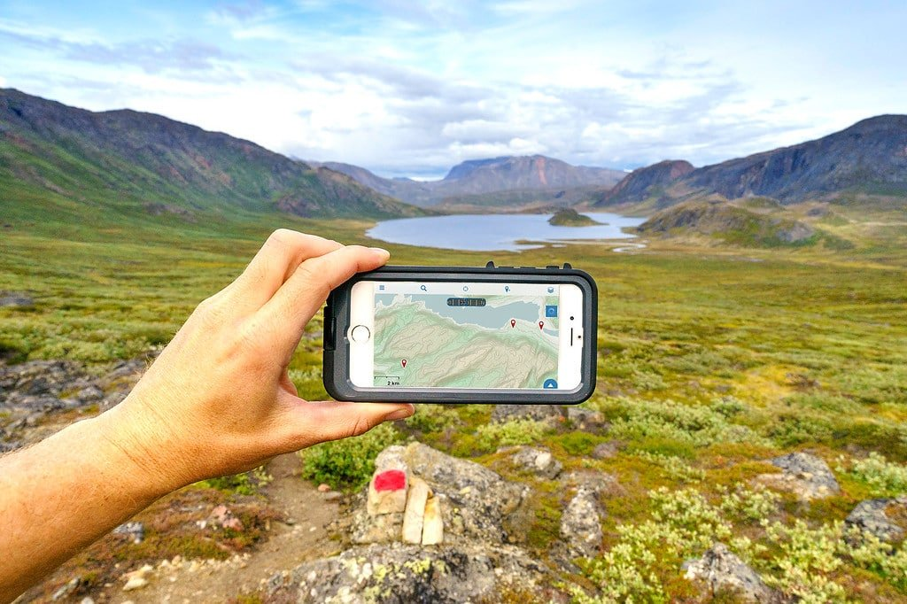 How To Use Your iPhone GPS For Hiking In The Wilderness