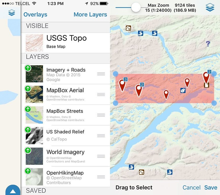 GPS Hiking App