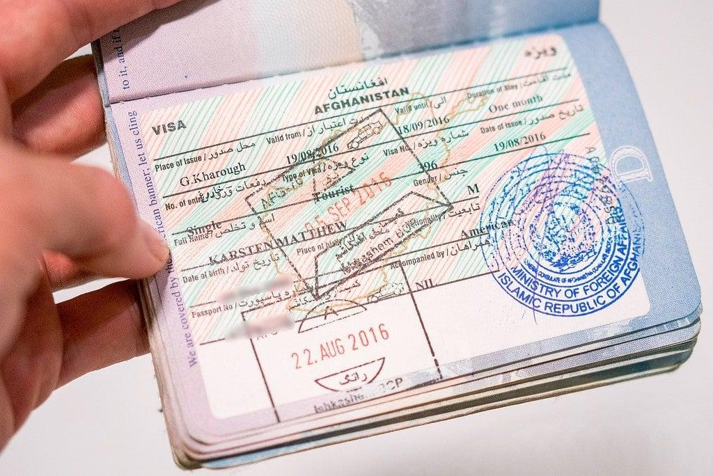 Afghanistan Visa for Americans