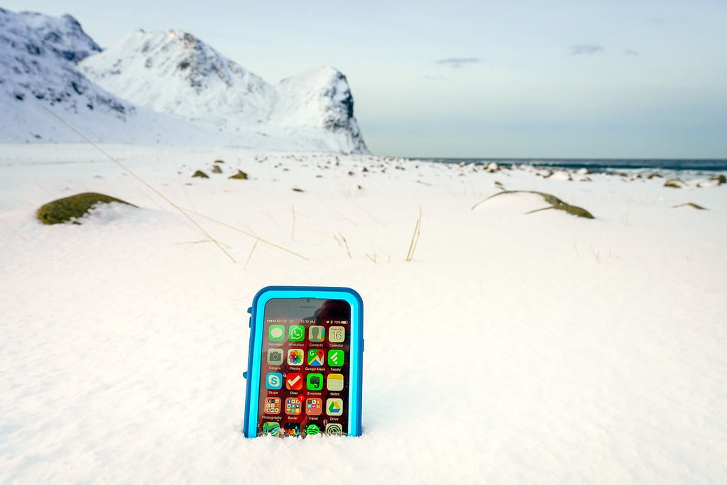 iPhone GPS Hiking