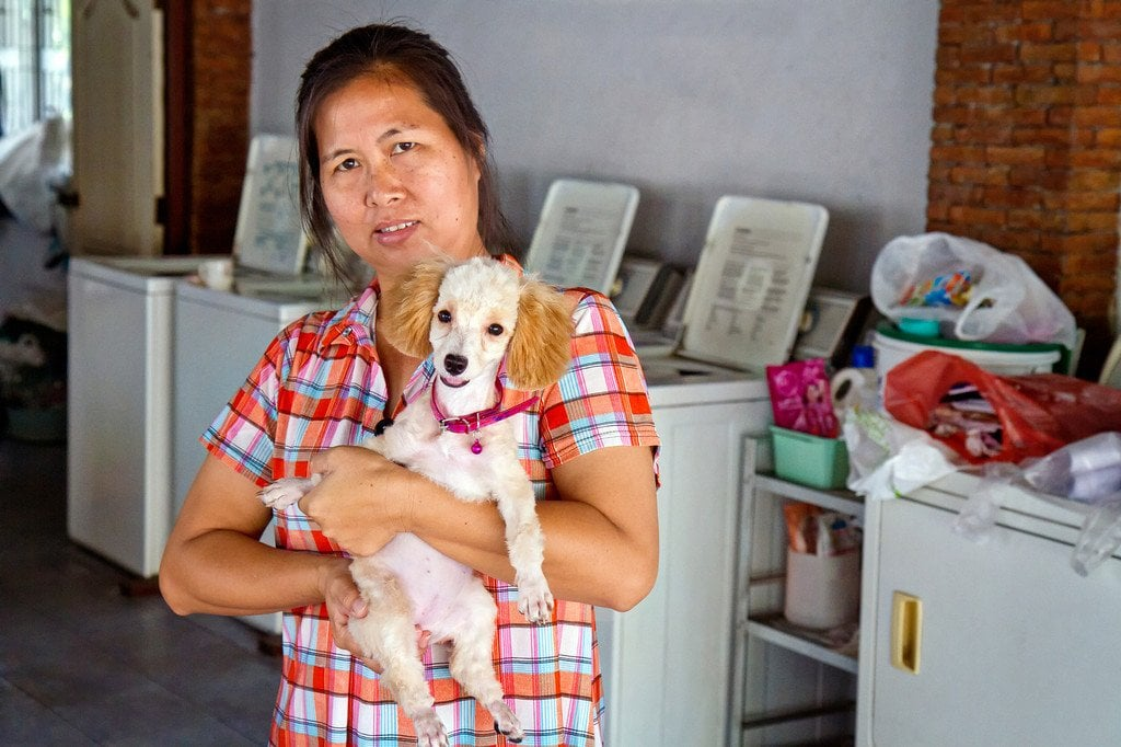 Laundry Lady in Thailand
