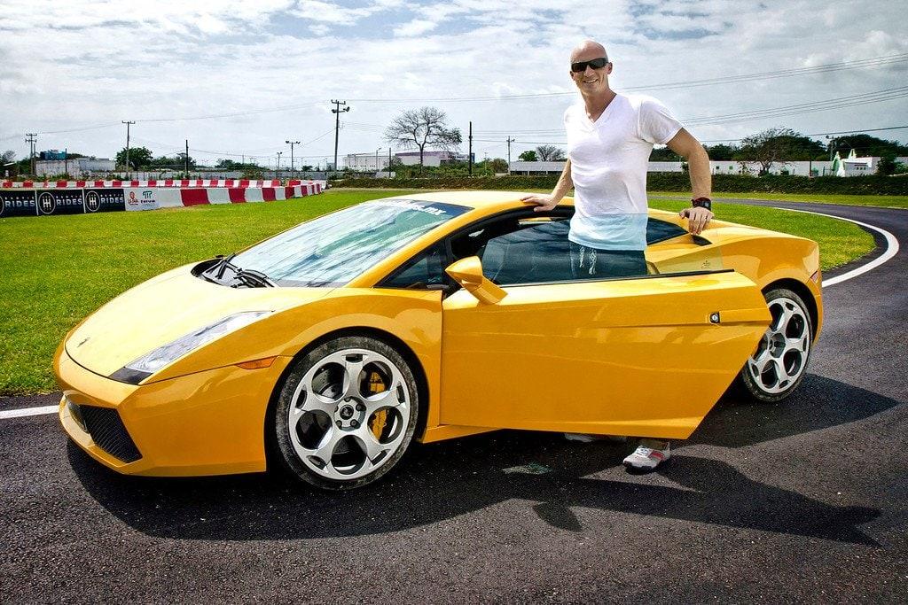 Driving Lamborghini Cancun Mexico