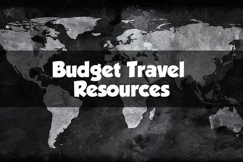 budget travel resources