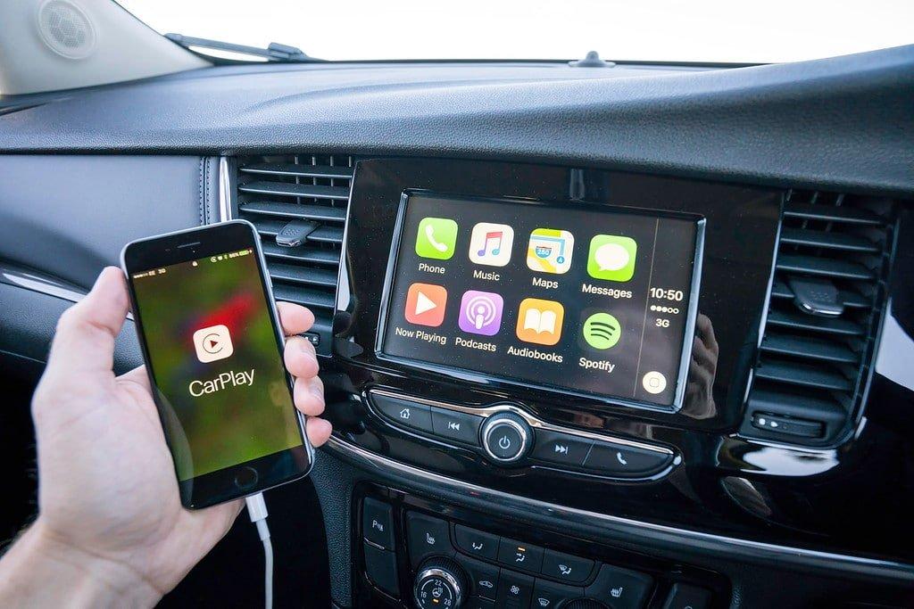 Vauxhall Apple Car Play