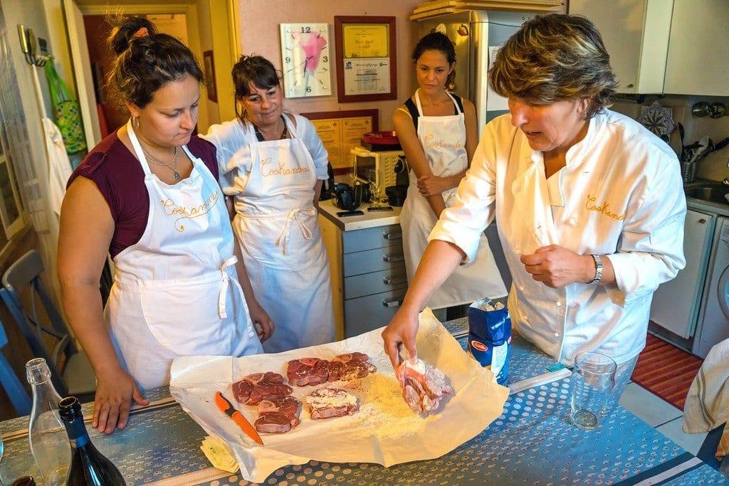 Cooking Milan Italy