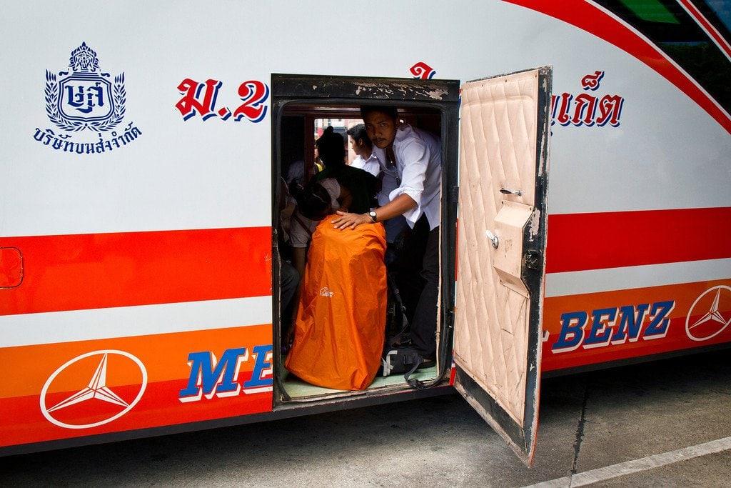 Luggage Class Bus Thailand