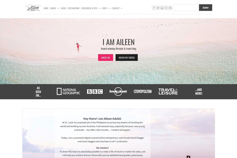 I Am Aileen Blog