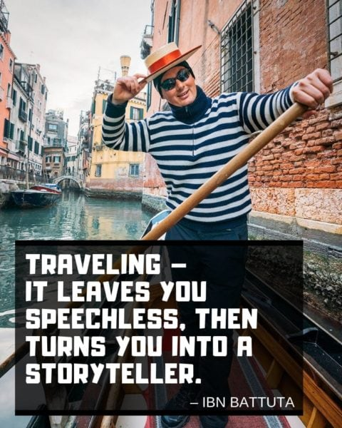 Ibn Battuta Quote about Traveling