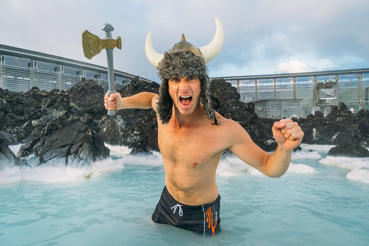 Fakten über Island: Schwimmen im Freien