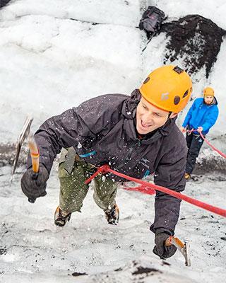 Glacier Climbing