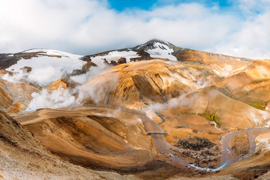 Kerlingarfjoll Geothermal Mountains