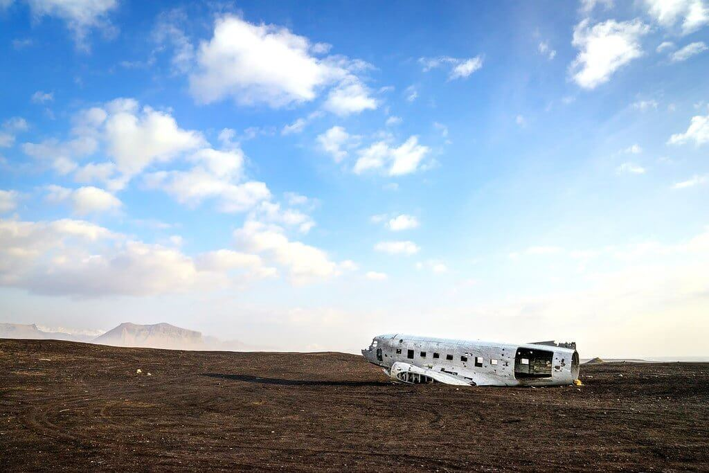 Airplane Wreckage Iceland