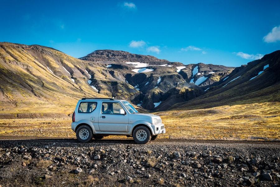 Driving Iceland's Rough Landscape
