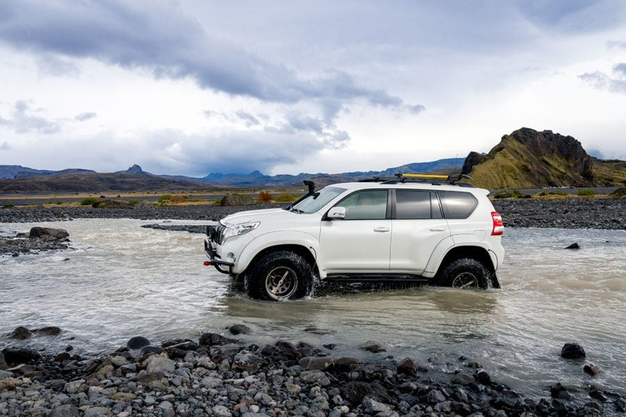 Iceland Super Jeep