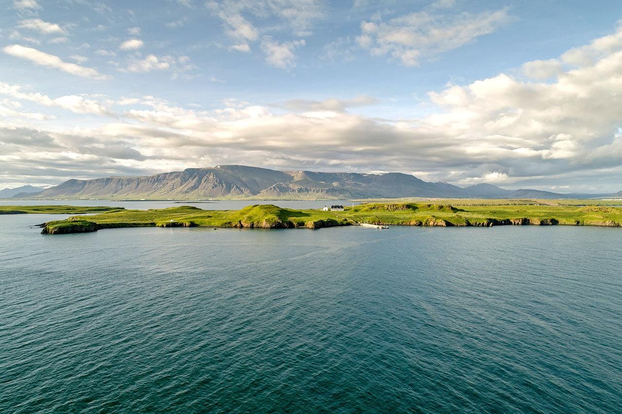 Videy Island in Iceland