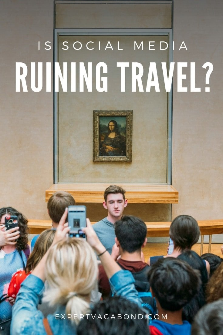 Is Instagram & Social Media Ruining Travel? A look at what's causing overcrowding and bad behavior. More at ExpertVagabond.com