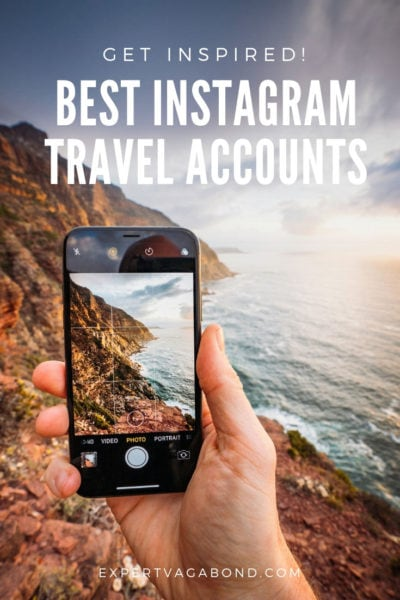 Follow the best Instagram travel photographers and accounts for travel inspiration. Here are my favorites!