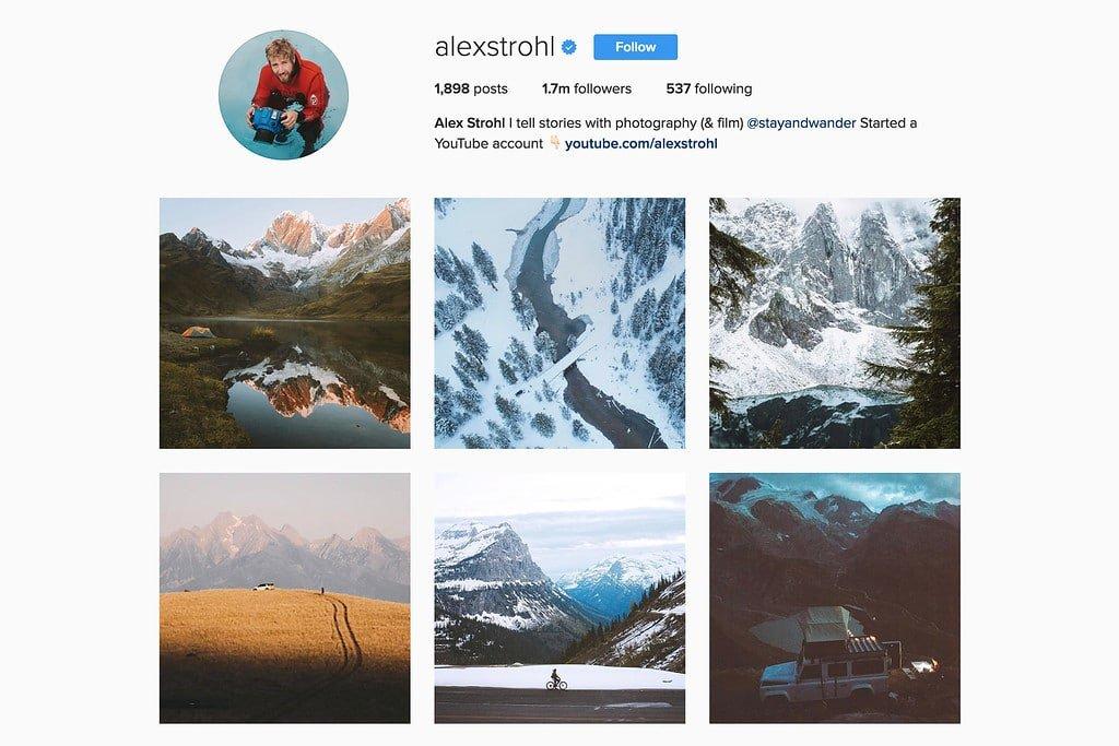 Travel with Alex on Instagram