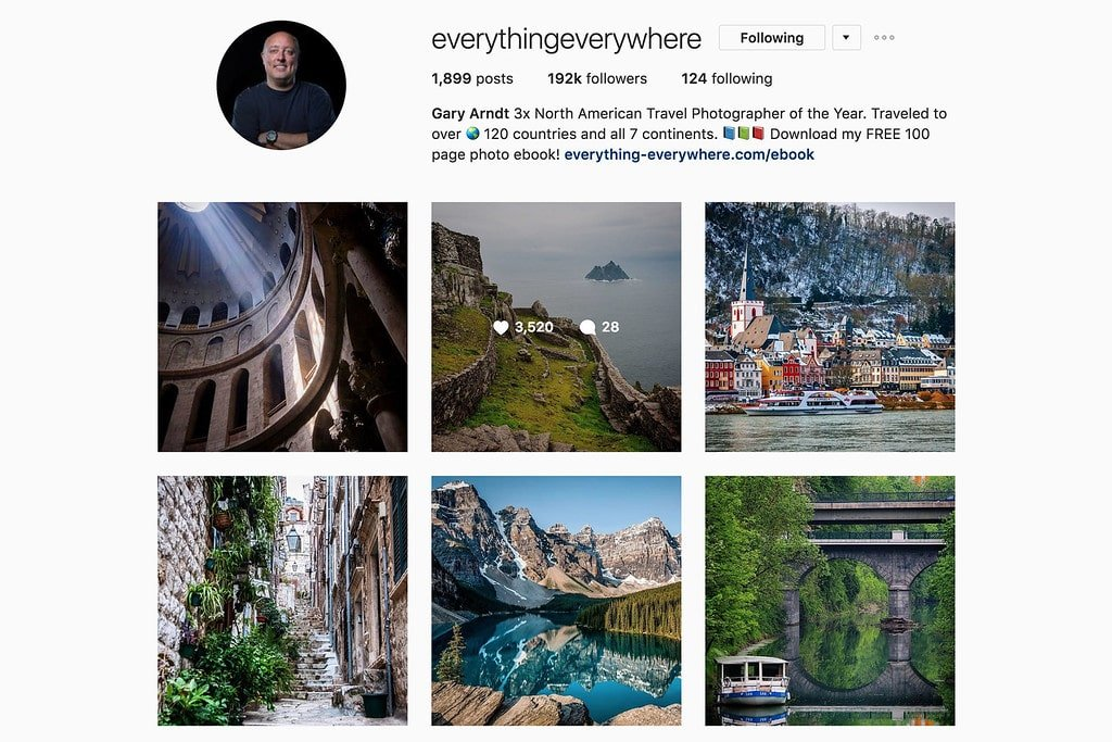 Travel with Gary on Instagram