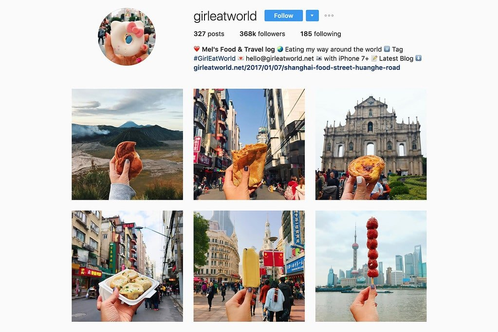 Travel with Mel on Instagram