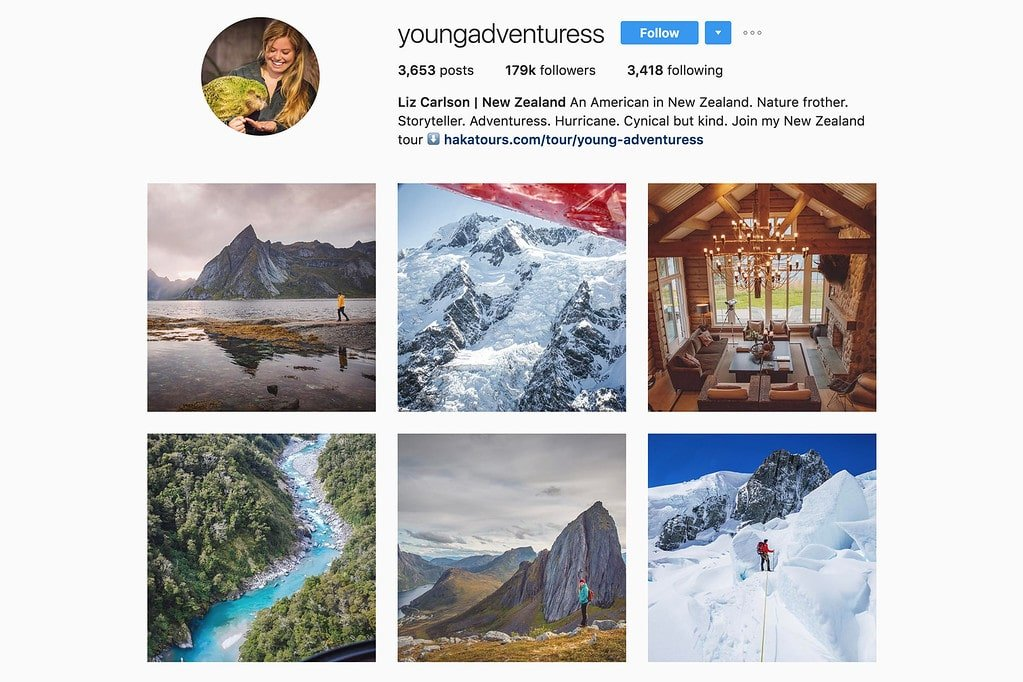 Travel with Liz on Instagram