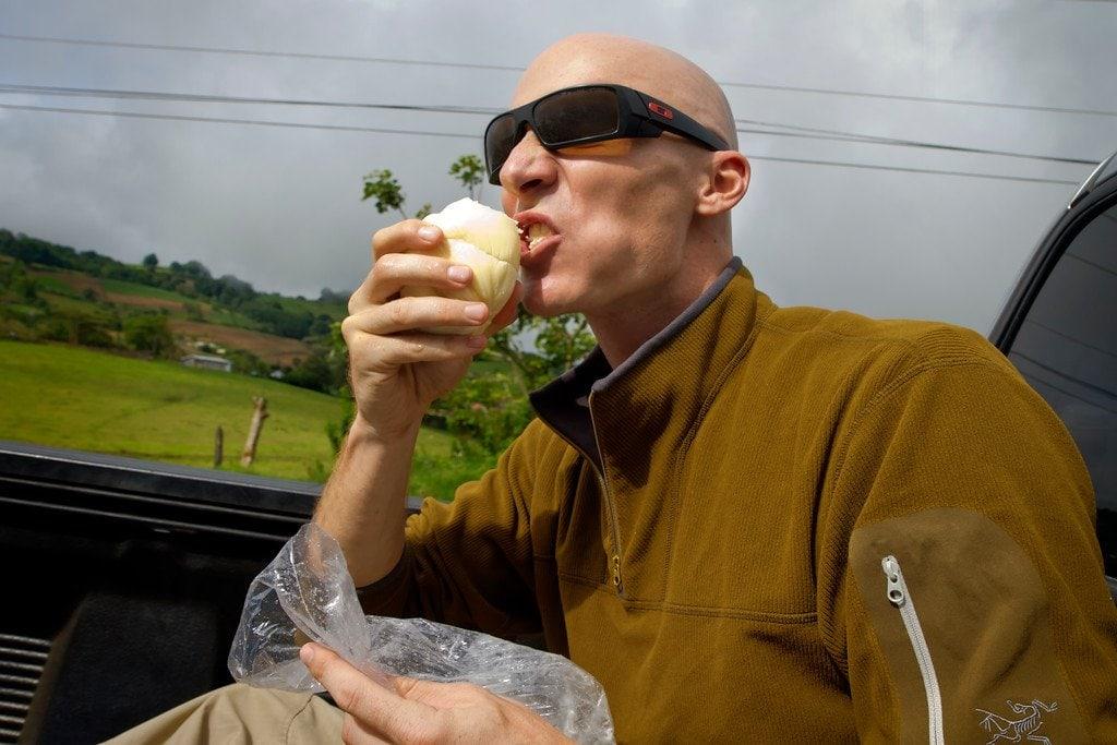 Road Cheese Irazu Costa Rica
