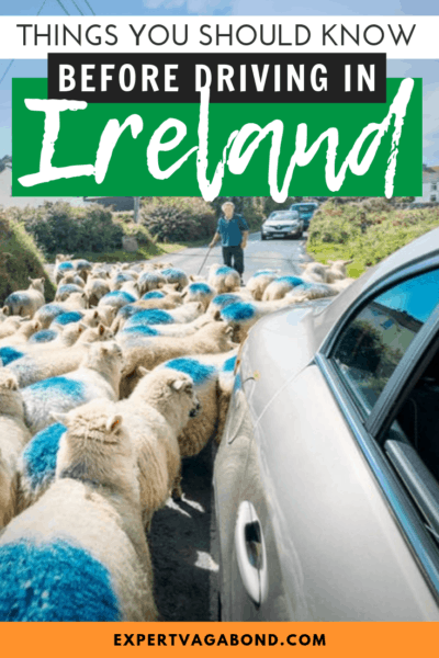 Renting a car in Ireland isn't as scary as it sounds if you follow my tips for a successful road trip. #Ireland #RentalCars #RoadTrip