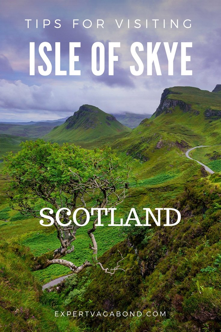 Visiting the Isle of Skye. More at ExpertVagabond.com