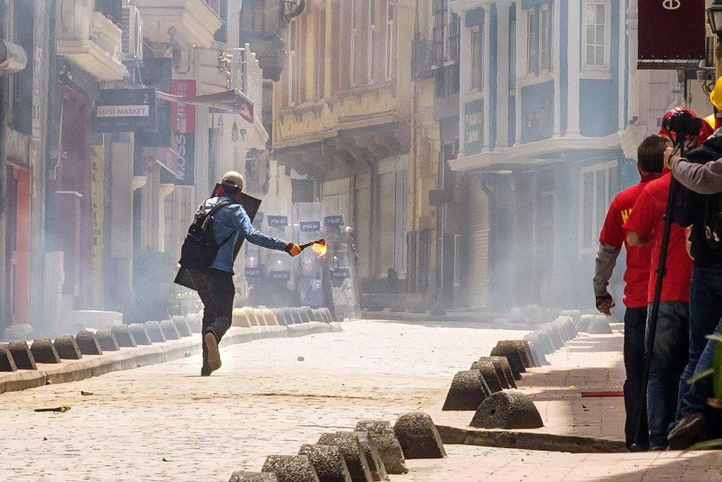 Fire Bomb Istanbul