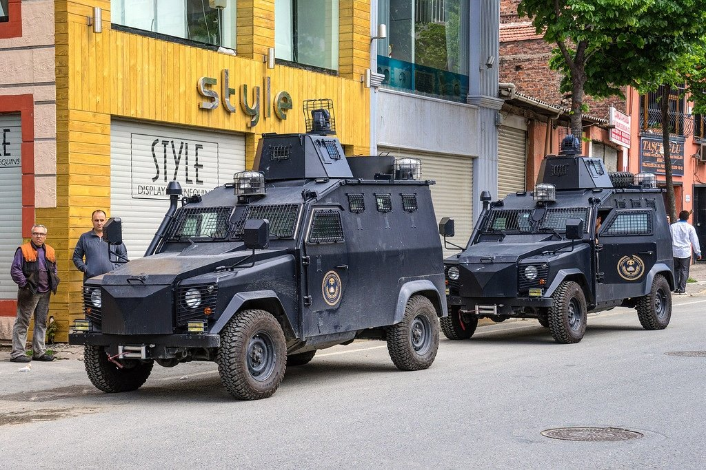 Armored Trucks Istanbul