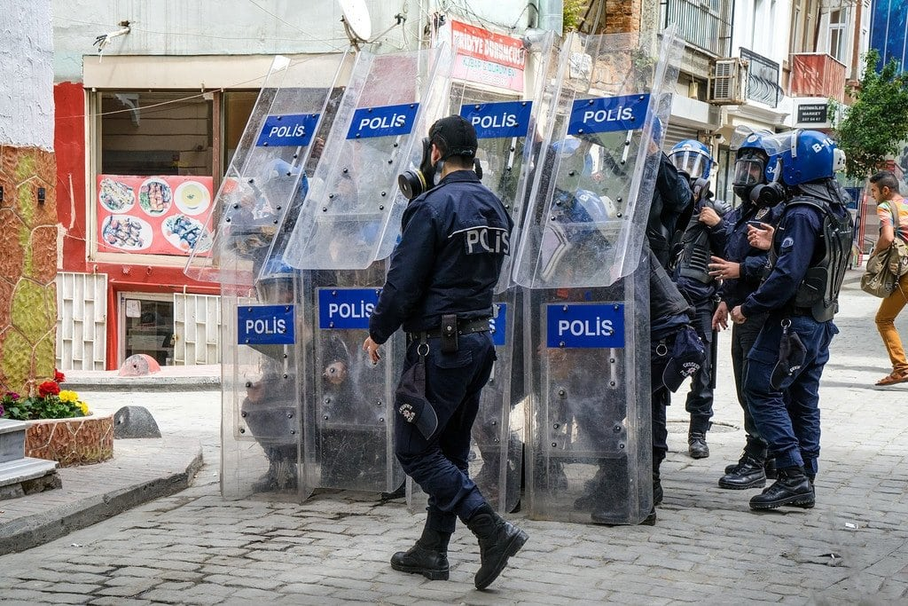 Istanbul Riot Police