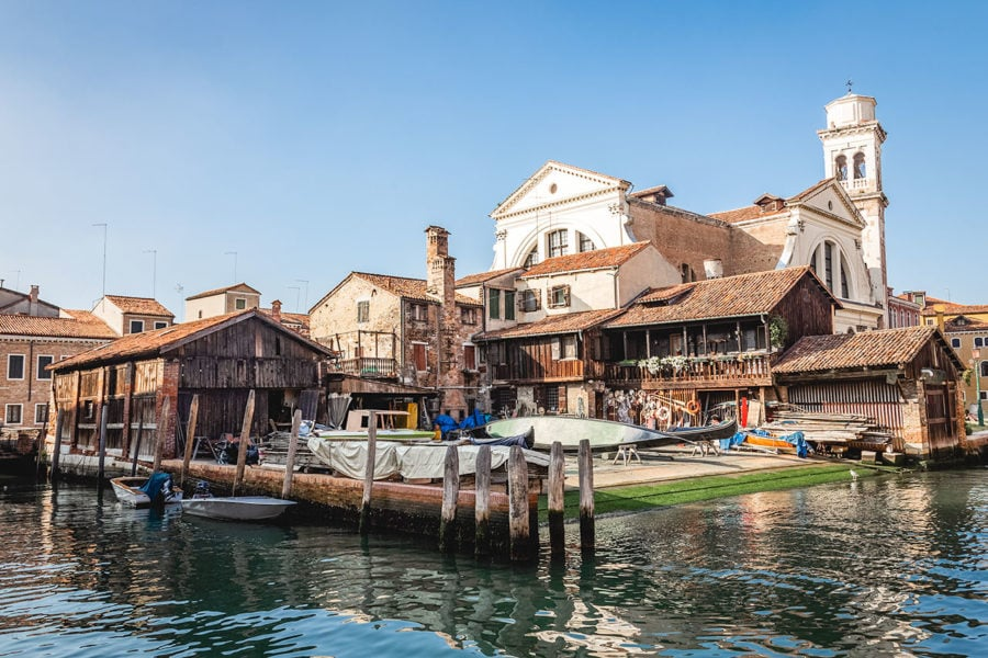 Gondola Boatyard