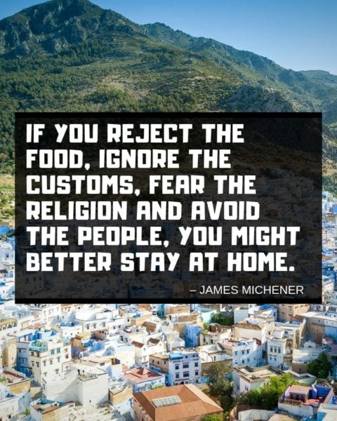 James Michener's Travel Wisdom
