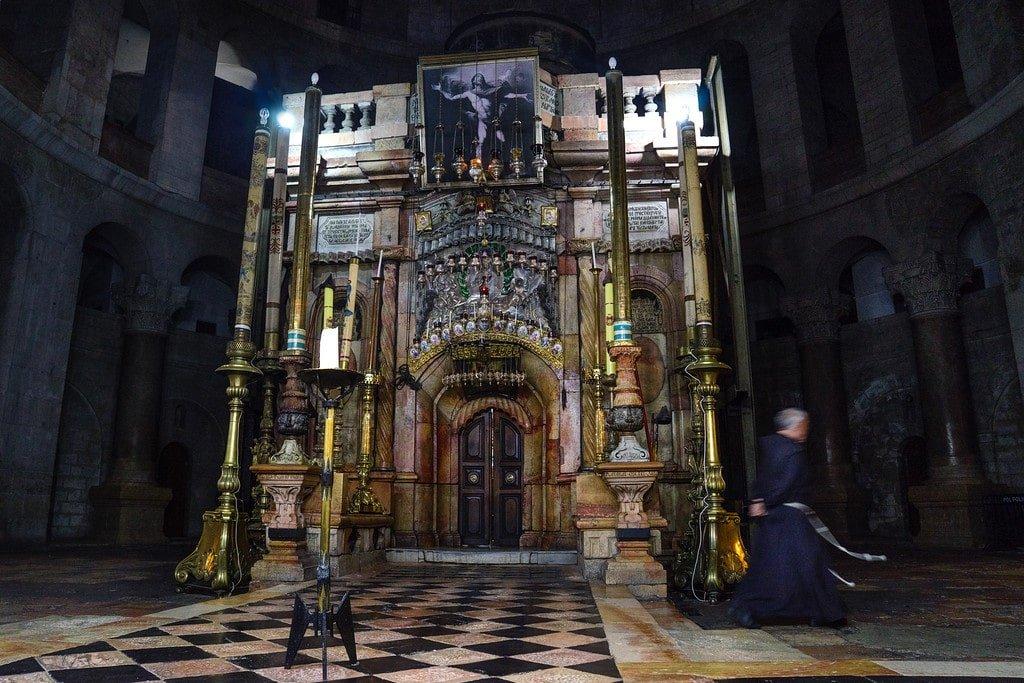 Tomb of Jesus in Jerusalem