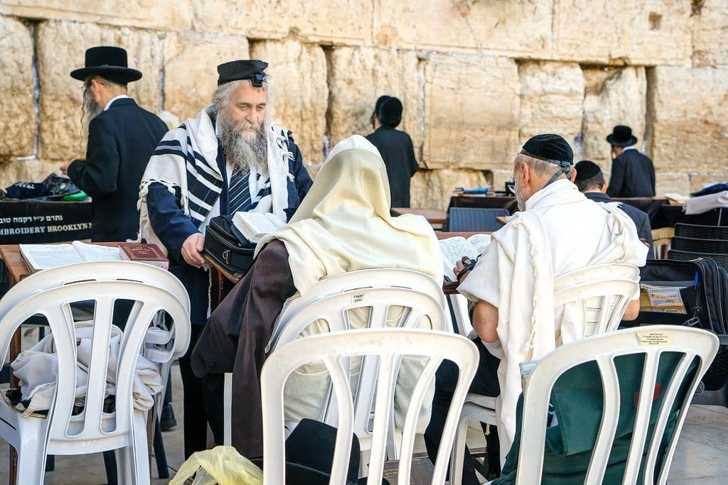 Orthodox Jews Jerusalem