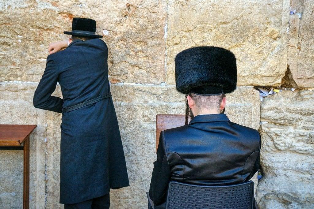 Men Praying Jerusalem
