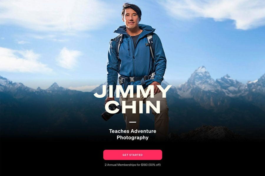 Jimmy Chin Photography Course