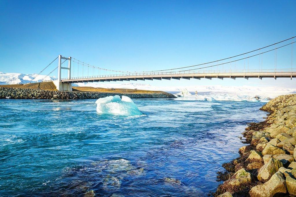 Jokulsarlon Lagoon Bridge