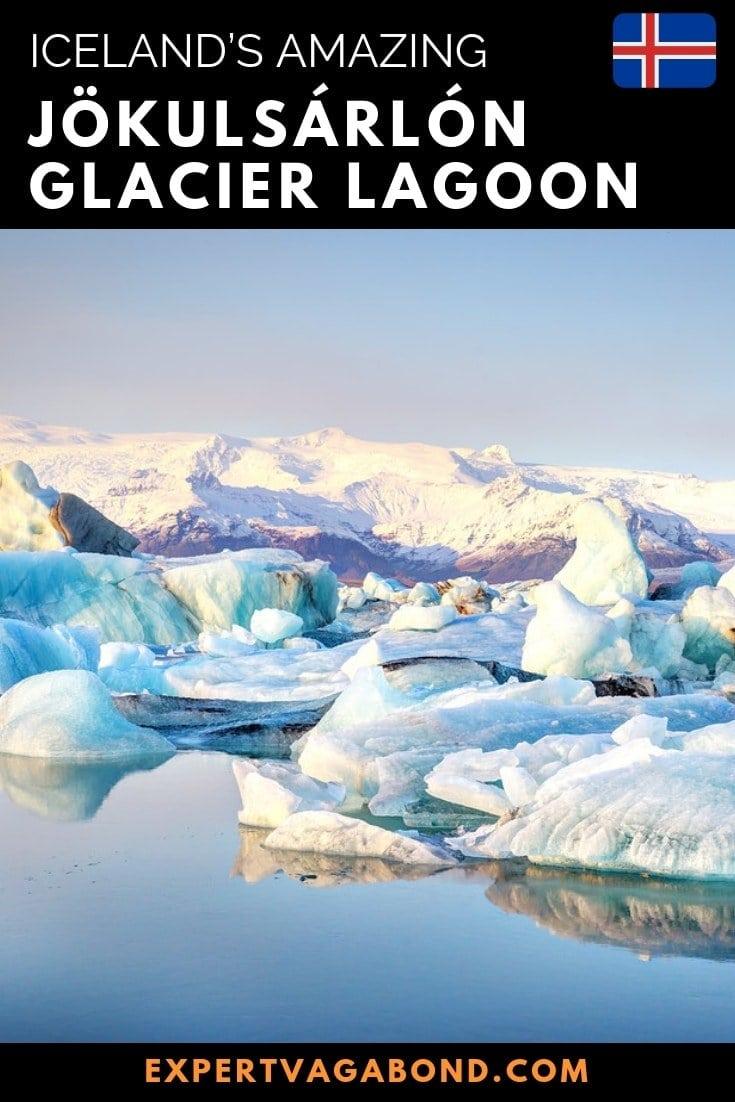 Tips for visiting Jokulsarlon lagoon Iceland. More at ExpertVagabond.com