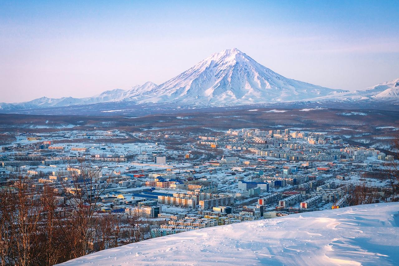 Petropavlovsk-Kamchatskiy Sunset