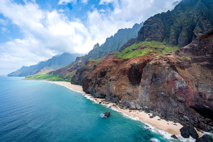 Na Pali Coastline Hawaii
