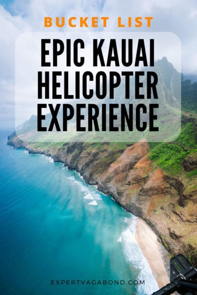 Don't visit Kauai without going on a helicopter tour of the Na Pali coast! Here are some tips for having a great experience.