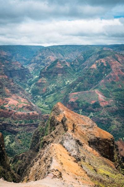 Hiking Waimea Canyon