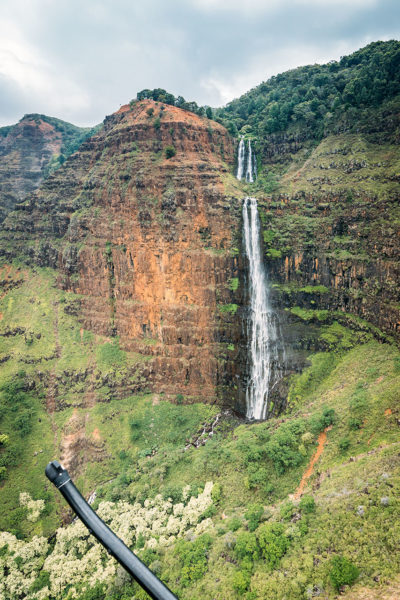 Waimea Canyon Waipo'o Waterfall