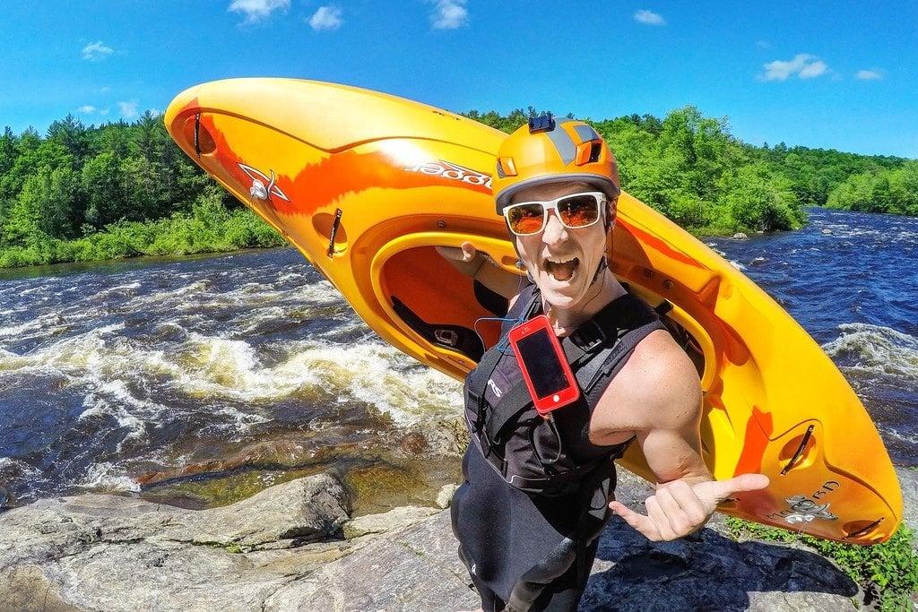 Whitewater Kayaking the Pemi
