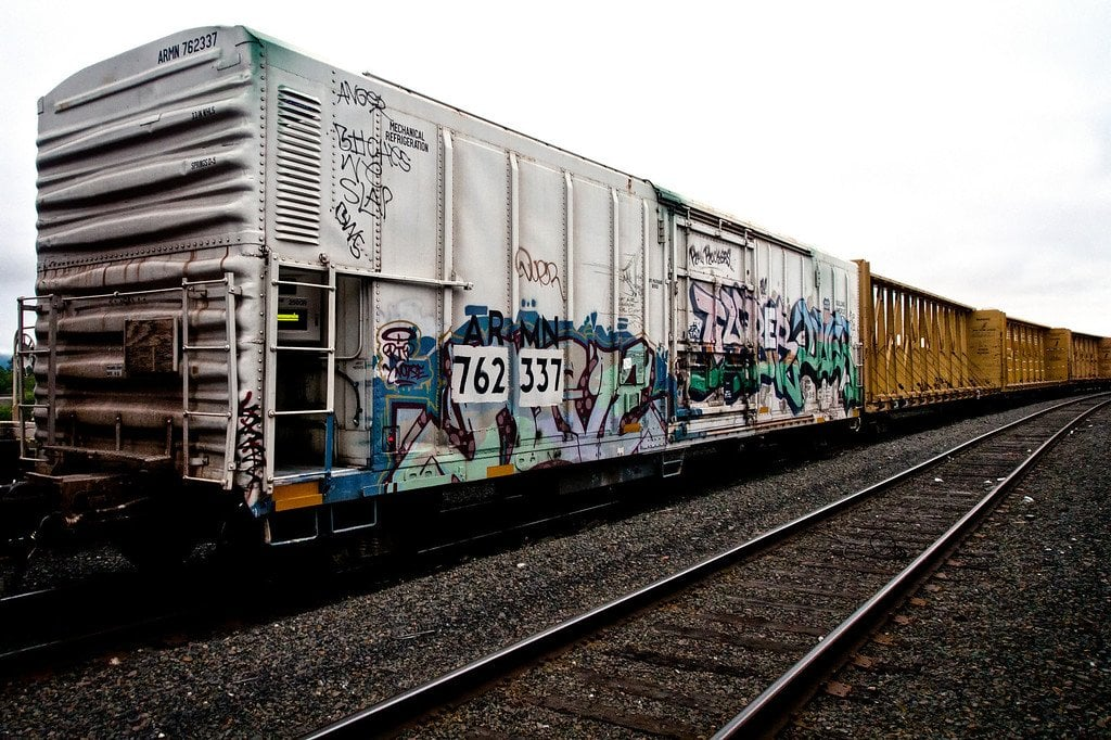 Train Hopping Portland