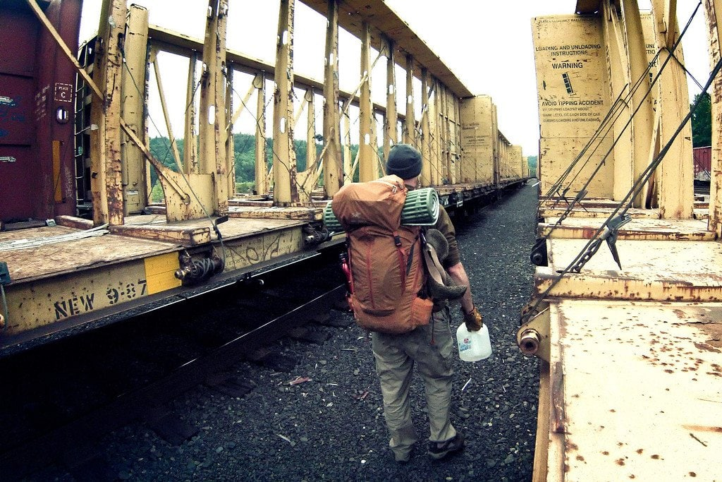 Hitchhiking America: Hopping A Freight Train (Part 2