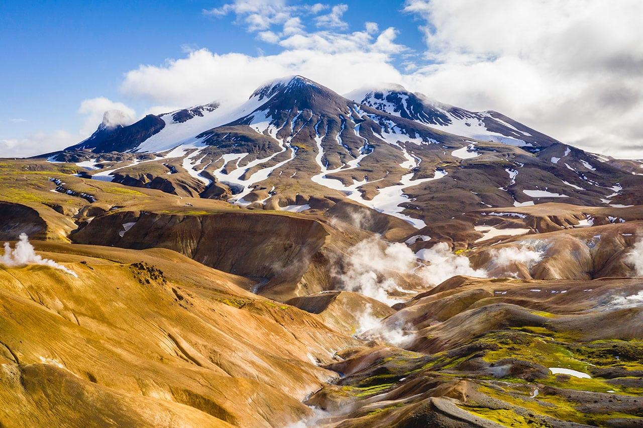 Hiking Kerlingarfoll Iceland