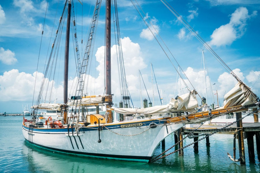 Sail Boats in Key West